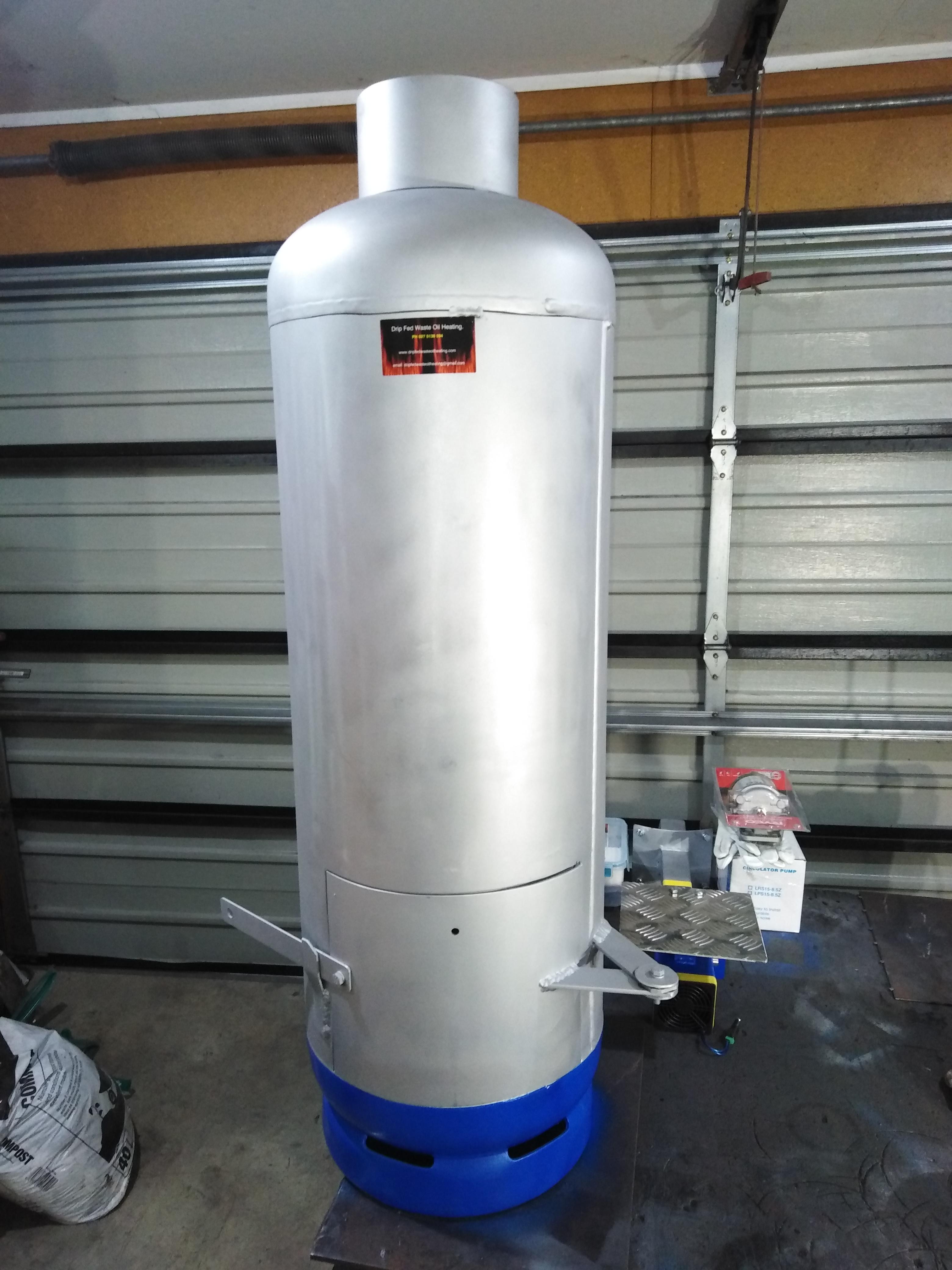 waste oil heating - Spa & Pool Heaters